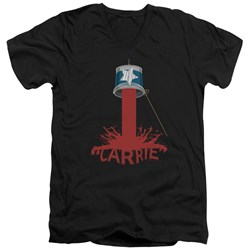 Carrie - Mens Bucket Of Blood V-Neck T-Shirt