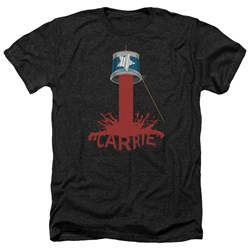 Carrie - Mens Bucket Of Blood Heather T-Shirt