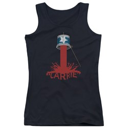 Carrie - Juniors Bucket Of Blood Tank Top