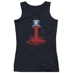 Carrie - Juniors Bucket Of Blood Tank Top
