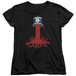 Carrie - Womens Bucket Of Blood T-Shirt