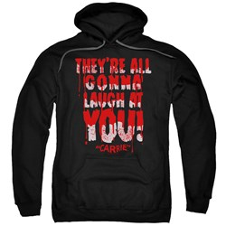 Carrie - Mens Laugh At You Pullover Hoodie