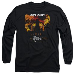 Amityville Horror - Mens Get Out Long Sleeve T-Shirt