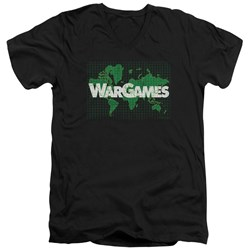 Wargames - Mens Game Board V-Neck T-Shirt