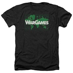 Wargames - Mens Game Board Heather T-Shirt