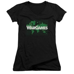 Wargames - Juniors Game Board V-Neck T-Shirt