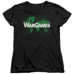 Wargames - Womens Game Board T-Shirt