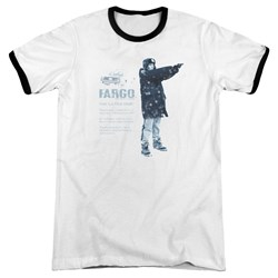 Fargo - Mens This Is A True Story Ringer T-Shirt