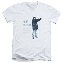 Fargo - Mens This Is A True Story V-Neck T-Shirt