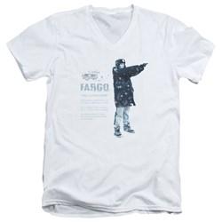 Fargo - Mens This Is A True Story V-Neck T-Shirt
