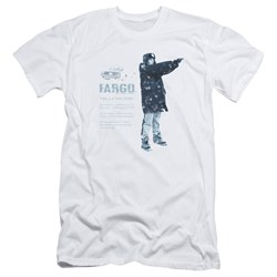 Fargo - Mens This Is A True Story Slim Fit T-Shirt