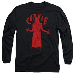Carrie - Mens Silhouette Long Sleeve T-Shirt