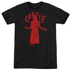 Carrie - Mens Silhouette Ringer T-Shirt