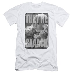 Poltergeist II - Mens Logo Slim Fit T-Shirt