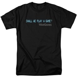 Wargames - Mens Shall We T-Shirt