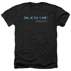 Wargames - Mens Shall We Heather T-Shirt