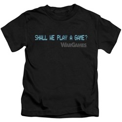 Wargames - Little Boys Shall We T-Shirt