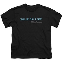 Wargames - Big Boys Shall We T-Shirt