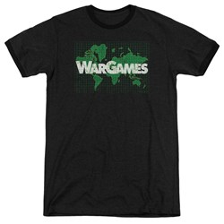Wargames - Mens Game Board Ringer T-Shirt