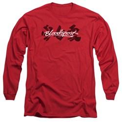 Bloodsport - Mens Kanji Long Sleeve T-Shirt