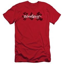 Bloodsport - Mens Kanji Slim Fit T-Shirt