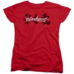 Bloodsport - Womens Kanji T-Shirt