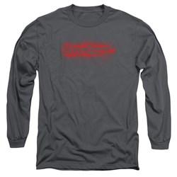 Bloodsport - Mens Blood Splatter Long Sleeve T-Shirt