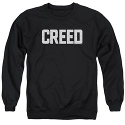 Creed - Mens Cracked Logo Sweater