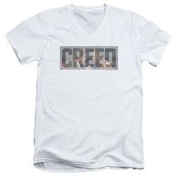 Creed - Mens Pep Talk V-Neck T-Shirt