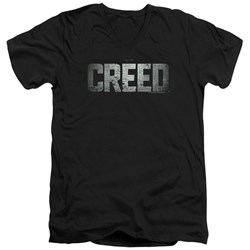 Creed - Mens Logo V-Neck T-Shirt