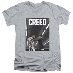 Creed - Mens Poster V-Neck T-Shirt