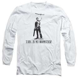 Army Of Darkness - Mens Boomstick! Long Sleeve T-Shirt