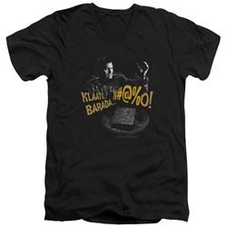 Army Of Darkness - Mens Klaatu...Barada V-Neck T-Shirt