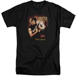 Delta Force - Mens Delta Force 2 Poster Tall T-Shirt