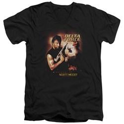 Delta Force - Mens Delta Force 2 Poster V-Neck T-Shirt