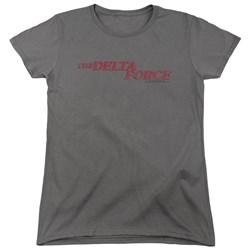 Delta Force - Womens Distressed Logo T-Shirt