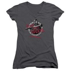 Delta Force - Juniors Sleep Tight V-Neck T-Shirt