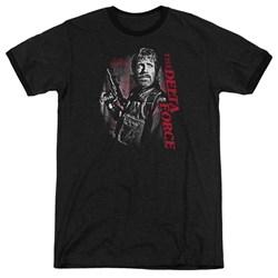 Delta Force - Mens Black Ops Ringer T-Shirt