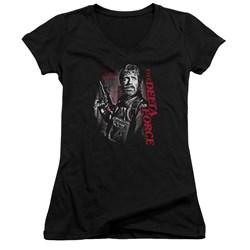 Delta Force - Juniors Black Ops V-Neck T-Shirt