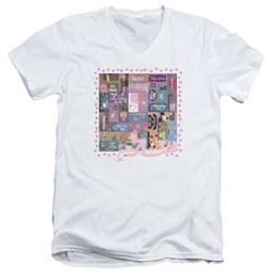 Pink Panther - Mens Vintage Titles V-Neck T-Shirt