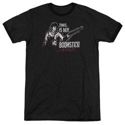 Army Of Darkness - Mens Boomstick Ringer T-Shirt