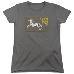 Lord Of The Rings - Womens Rohan Banner T-Shirt