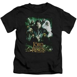 Lord Of The Rings - Little Boys Hero Group T-Shirt