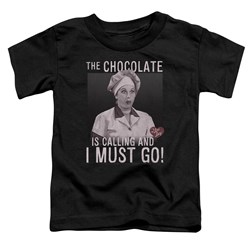 I Love Lucy - Toddlers Chocolate Calling T-Shirt