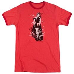 Lucille Ball - Mens Signature Look Ringer T-Shirt