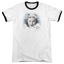 Lucille Ball - Mens In Blue Ringer T-Shirt