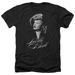 Lucille Ball - Mens Pretty Gaze Heather T-Shirt