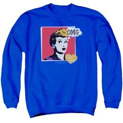 I Love Lucy - Mens I Love Worhol Omg Sweater