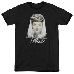 Lucille Ball - Mens Glowing Ringer T-Shirt