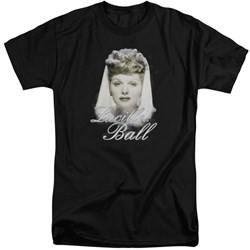 Lucille Ball - Mens Glowing Tall T-Shirt